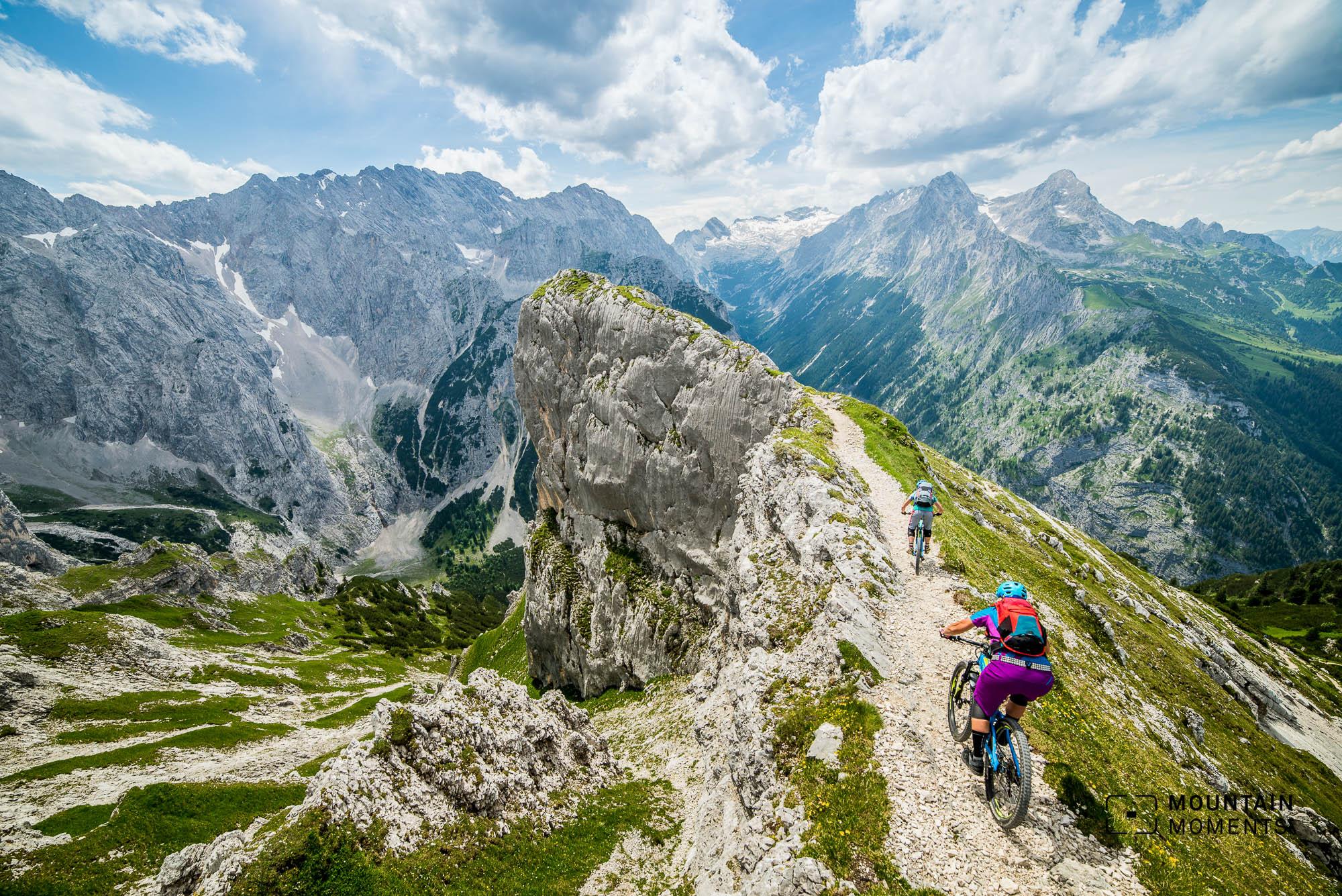 fotospot Zugspitze, fotoservice, bike fotoservice, mountainbike fotografie, epic shot mountainbike, mountainbike epic shot, singletrail epic shot, fotoservice singletrail