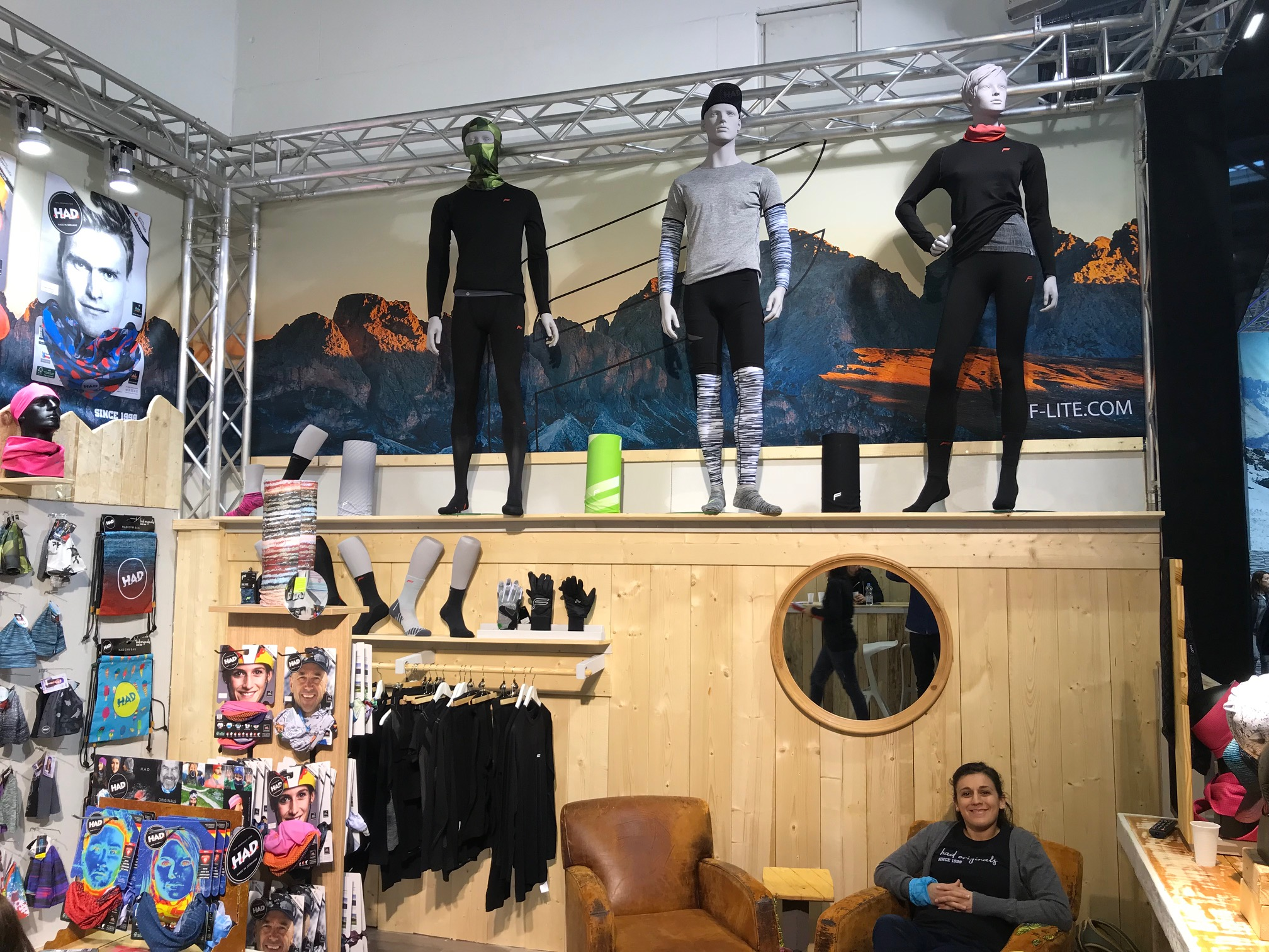 Ispo 2018 Banner, ispo 2018, mountain moments werbung, had originals, schlauchtücher, bufftücher
