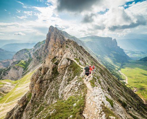 Foto Bergwandern Dolomiten