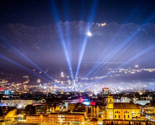 silvester, feuerwerk, innsbruck, firework, sylvester, new years eve, lightshow, lichtshow
