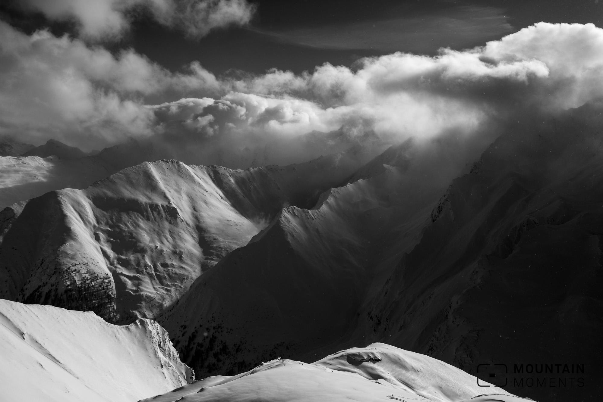 ischgl, paznaun, fotspots, mountains, berge, fotospots, fotolocations, samnaun, clouds, wolken, winterbilder