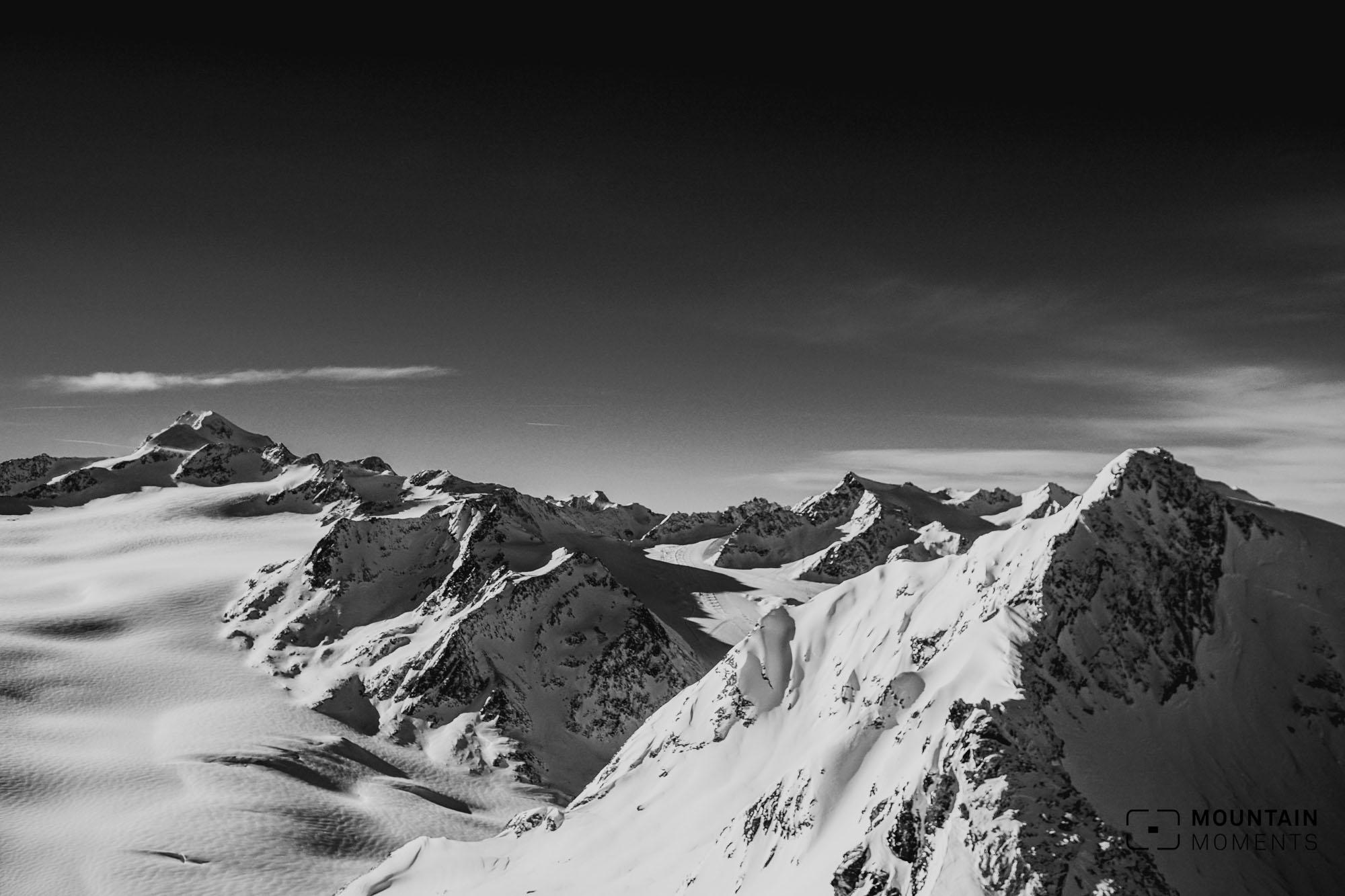 gletscherblick sölden, aussichtspunkt sölden, fotospot sölden
