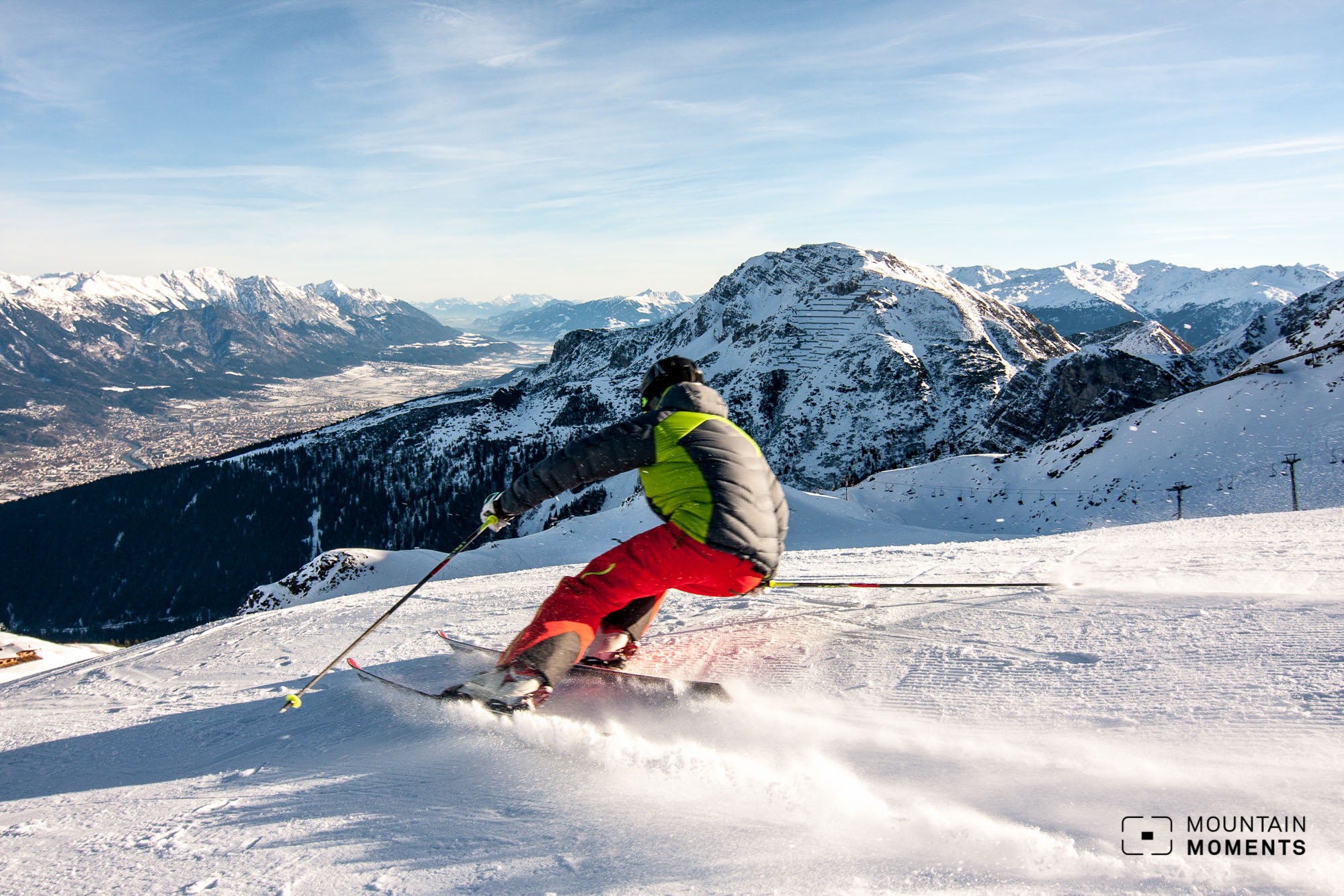 Skigebiet Axamer Lizum: Das abwechslungsreiche Skigebiet Nahe an der Stadt Innsbruck.